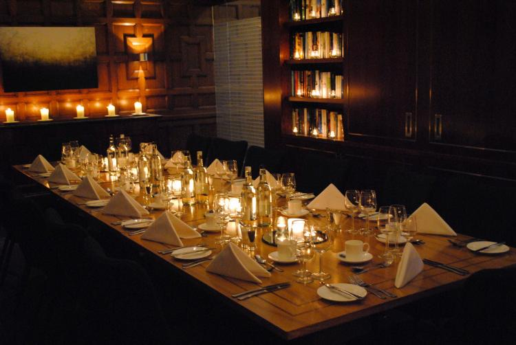 Events venue london meeting rooms 8 northumberland 8 for Best private dining rooms central london